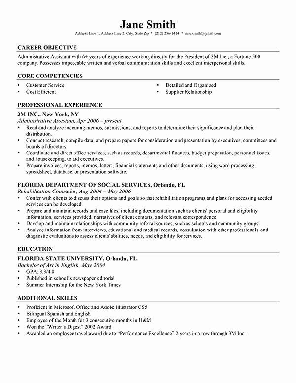 Advanced Resume Templates