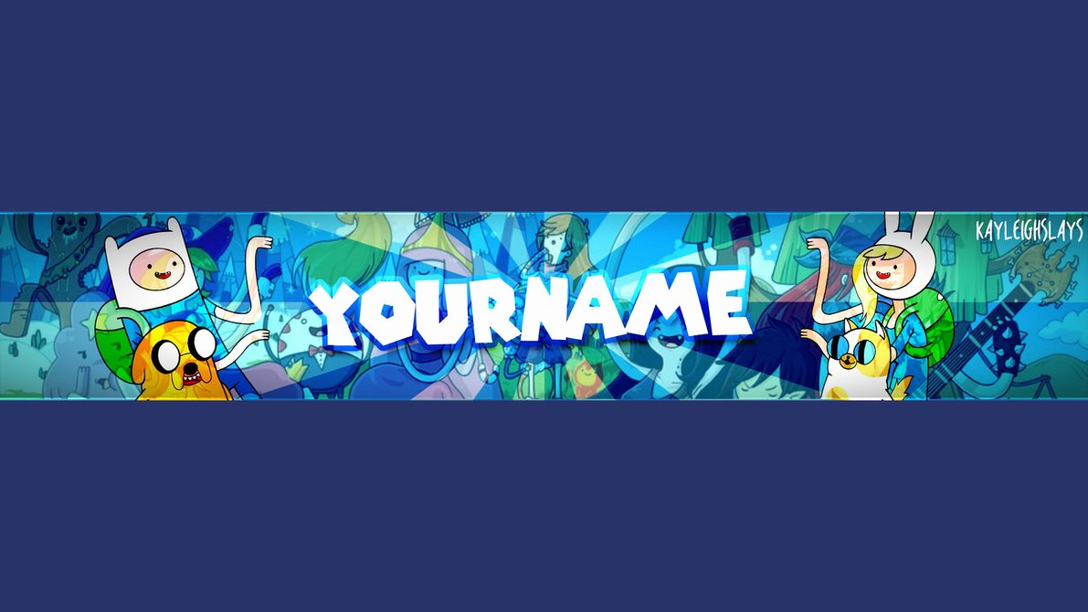 Adventure Time Channel Art Template by