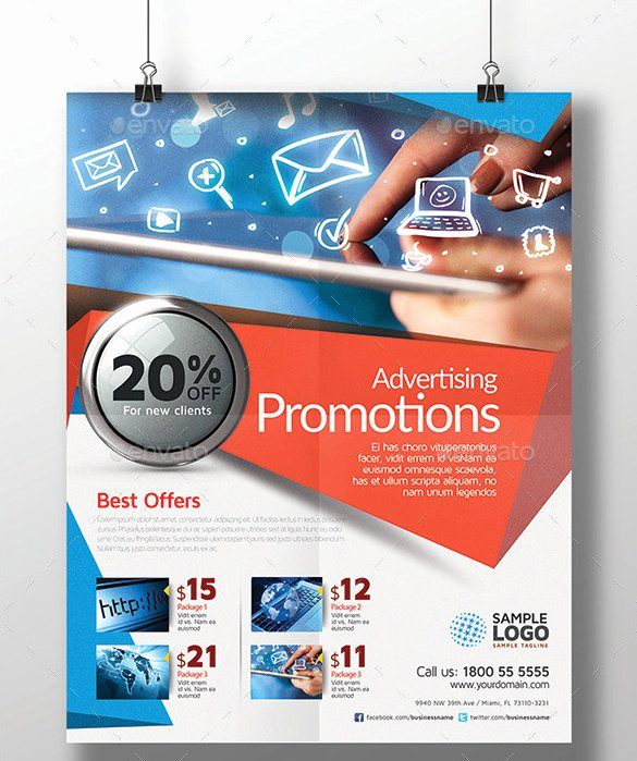 Advertising Design Template 59 Free Psd format Download
