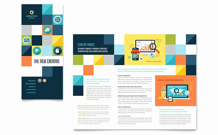 Advertising Pany Tri Fold Brochure Template Word