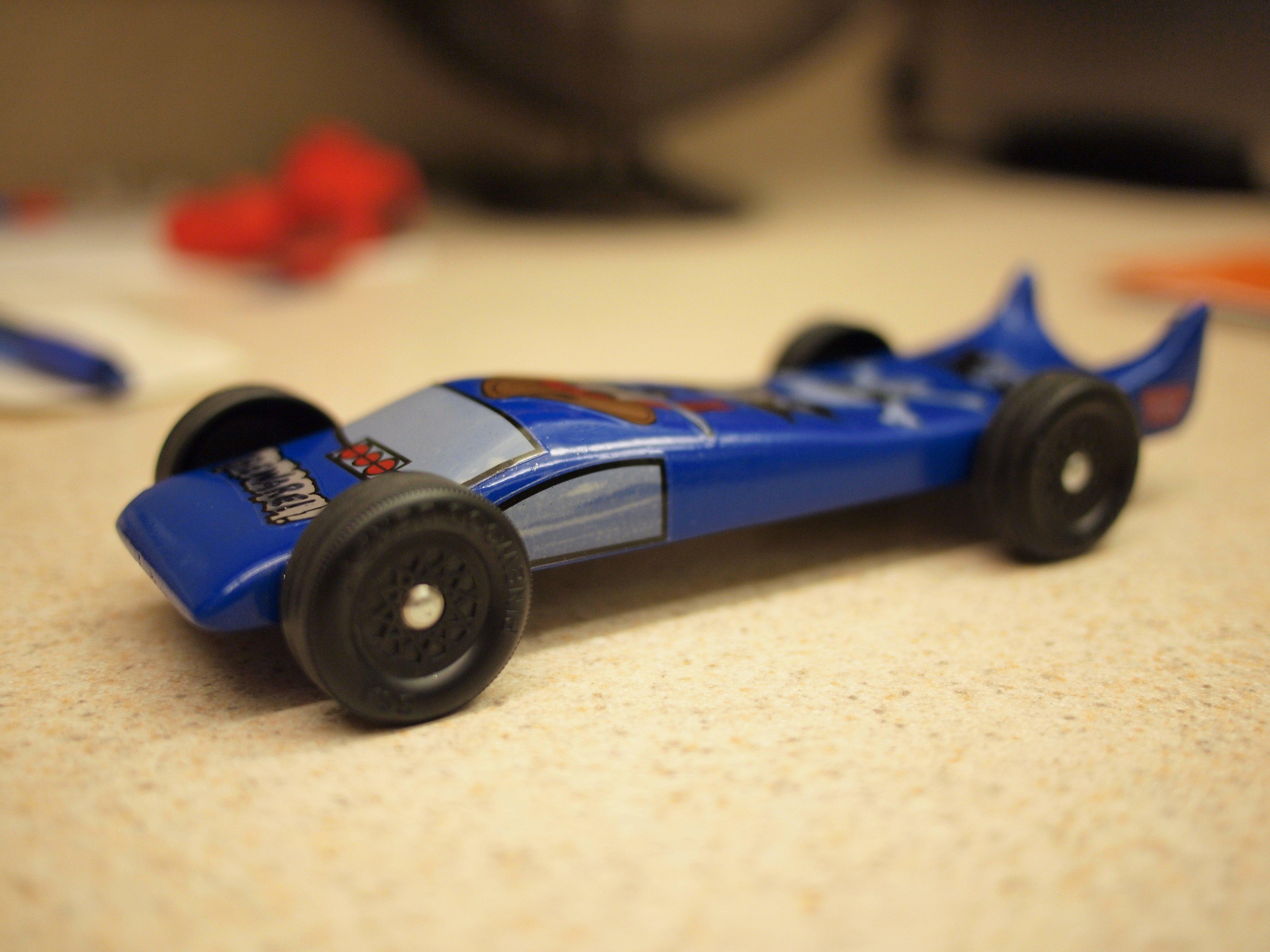 Aerodynamic Pinewood Derby Car Designs
