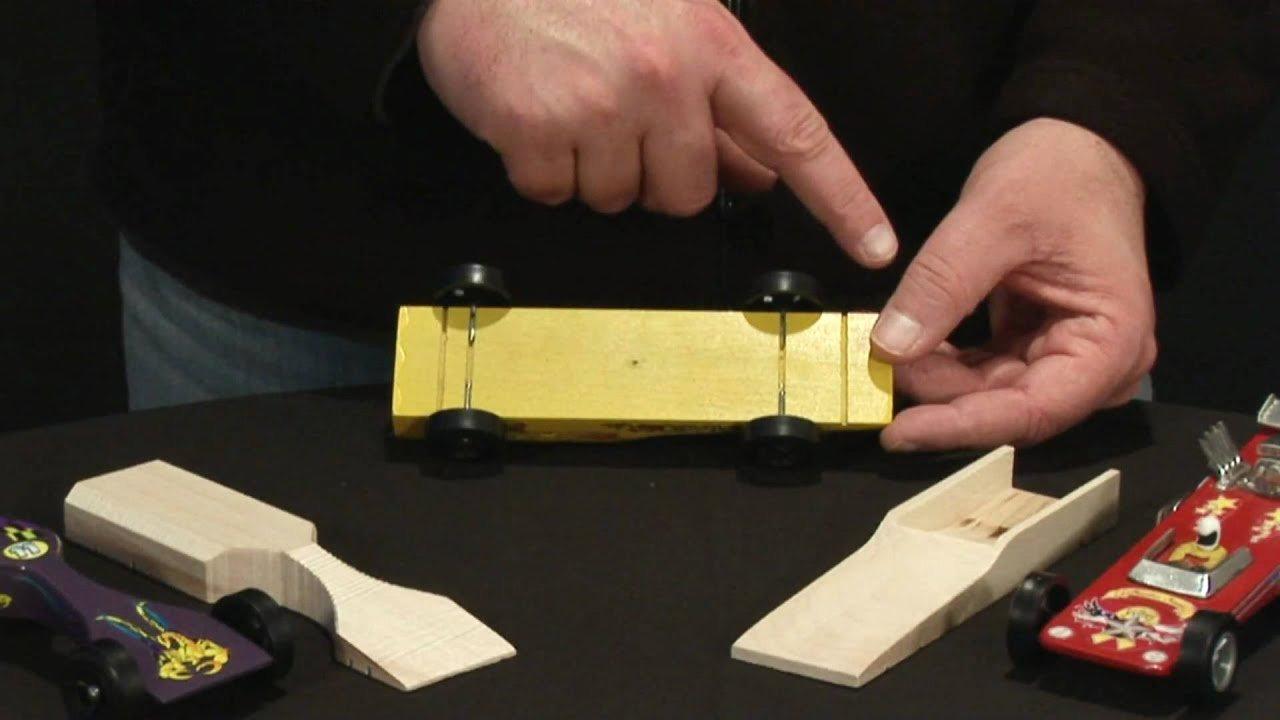 Aerodynamic Pre Cut Designs Pinewood Racing Car