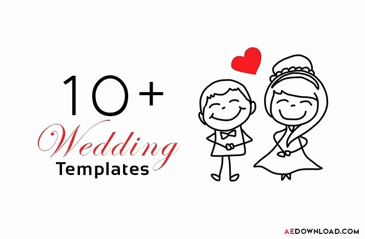 After Effect Wedding Title Template Free – ifa