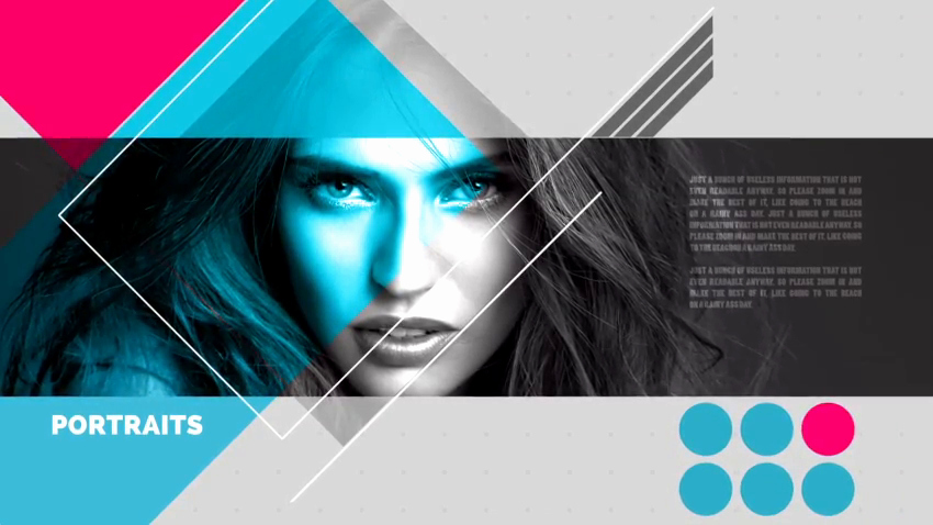 After Effects Cs5 Template Abstract Slideshow Videoblocks
