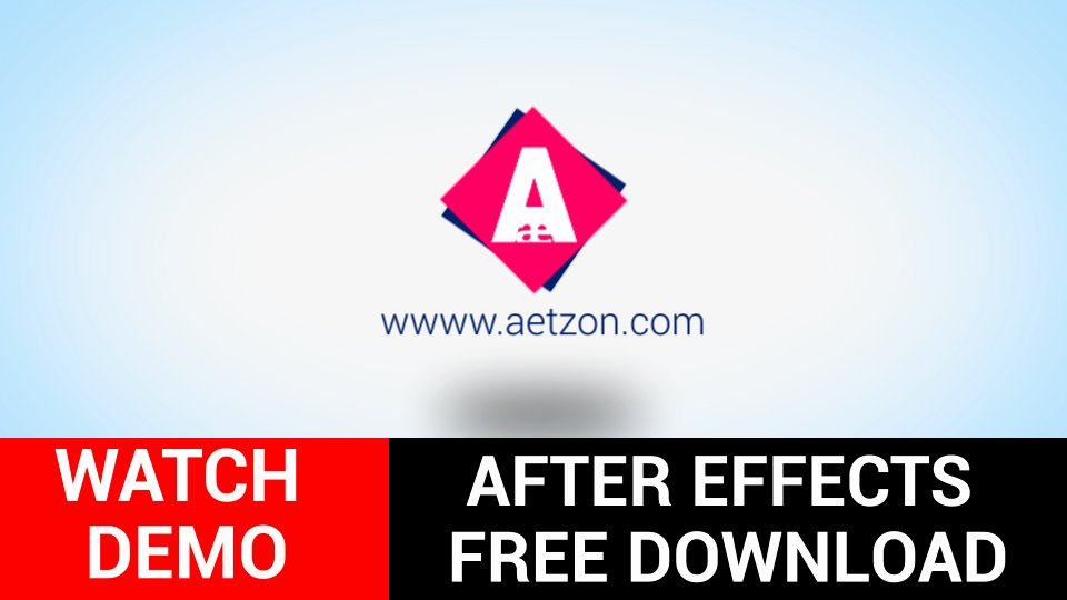 After Effects Logo Templates Free after Effects