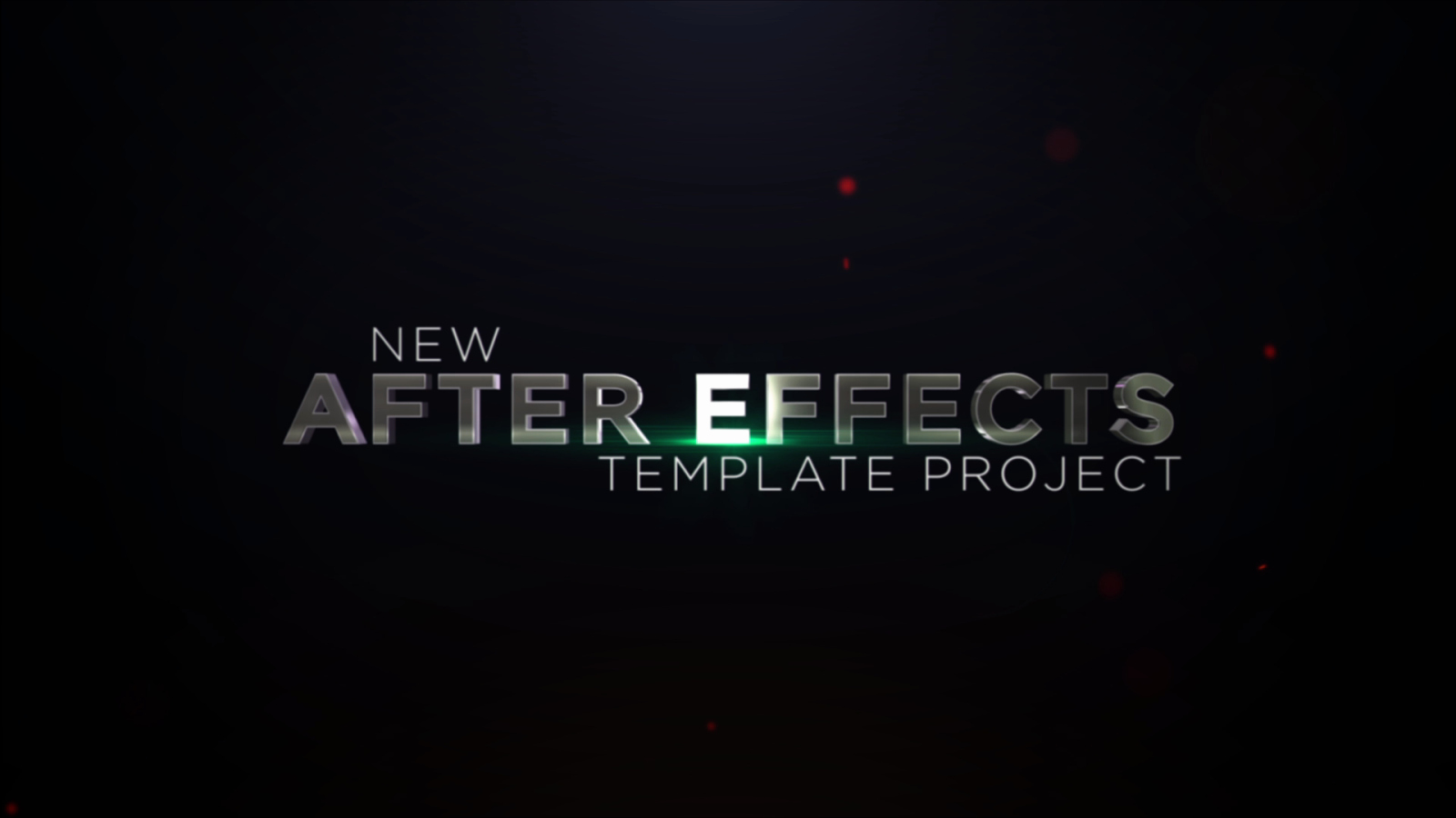 After Effects Template Aggressive Trailer Titles V1