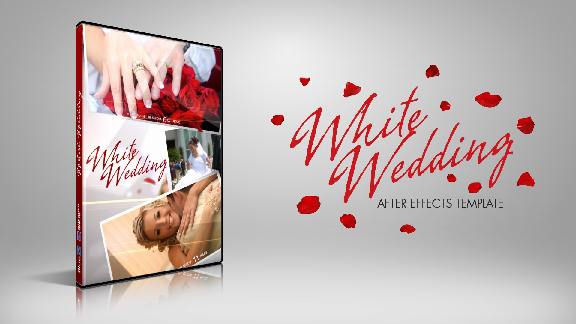After Effects Template White Wedding
