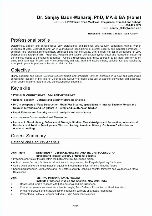 Air force Resume Template Federal Government 5 Us Download