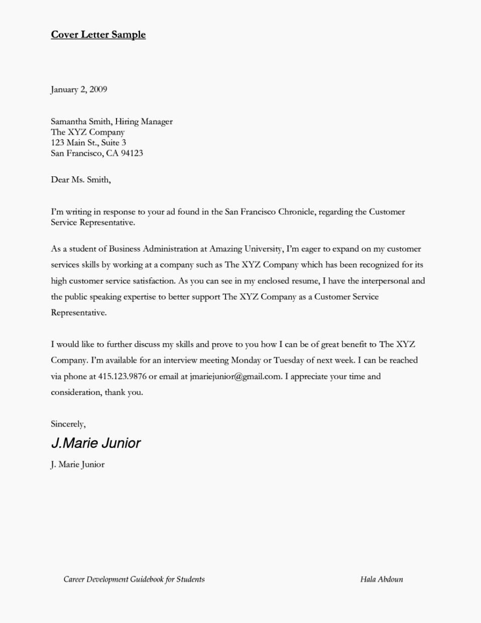 Airline Customer Service Agent Cover Letter Sample Resumes