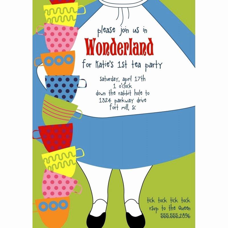 Alice In Wonderland Invitation – orderecigsjuicefo