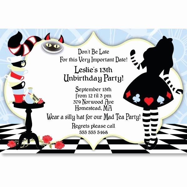 Alice In Wonderland Sweet 16 Ideas