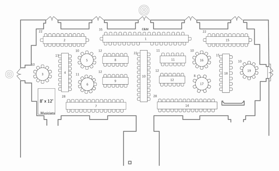 Allseated Free and Easy Floorplans Seating Charts and More