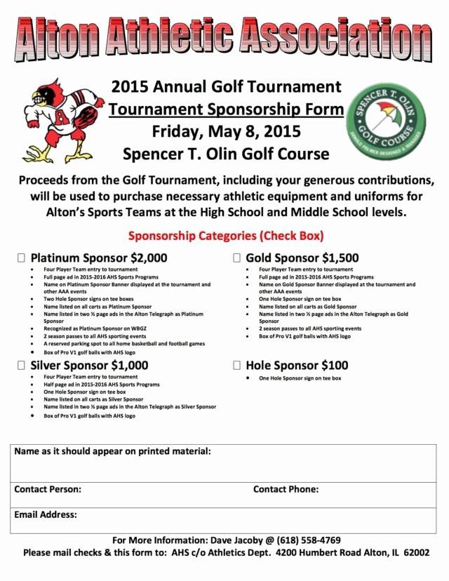 Alton athletic association S Annual Golf tournament at