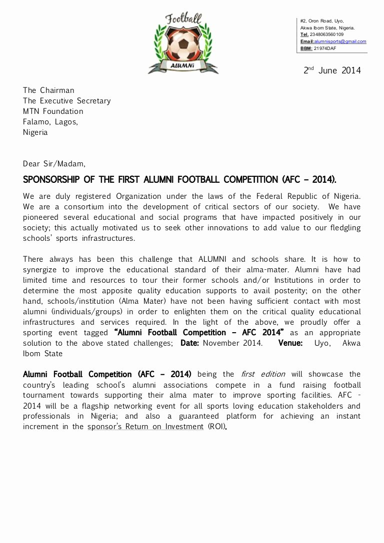 Alumni Football Petition Afc 2014 Registration