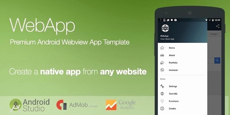Android App Templates for android Studio Free