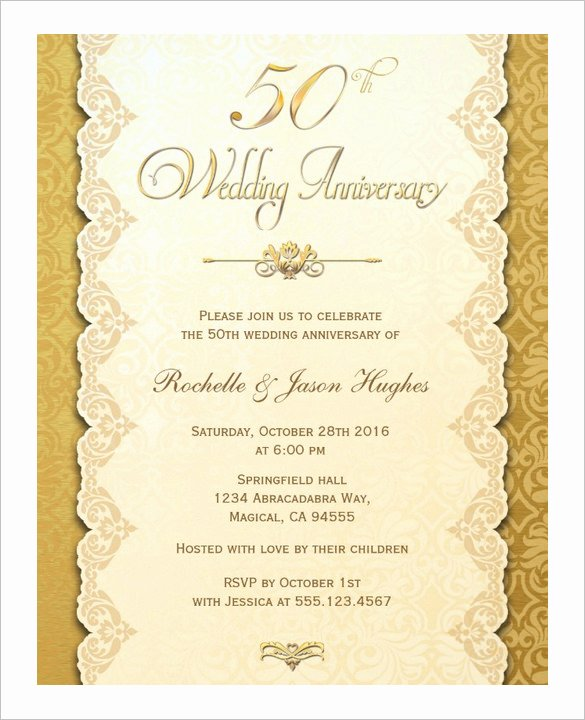 Anniversary Card Template 10 Free Sample Example
