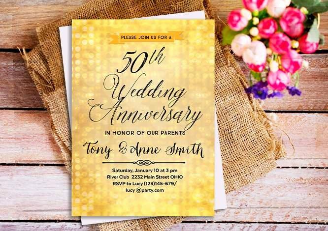 Anniversary Invitations Templates – orderecigsjuicefo