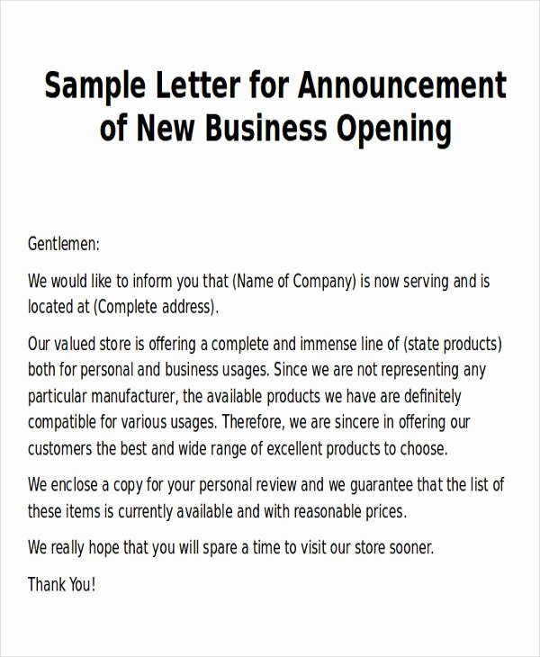 Announcement Letter Colombristopherbathum