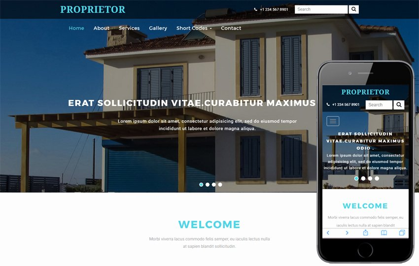 Apartment A Real Estate Category Flat Bootstrap Responsive