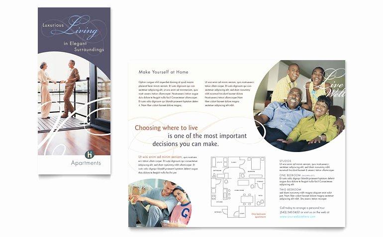 Apartment & Condominium Brochure Template Word & Publisher