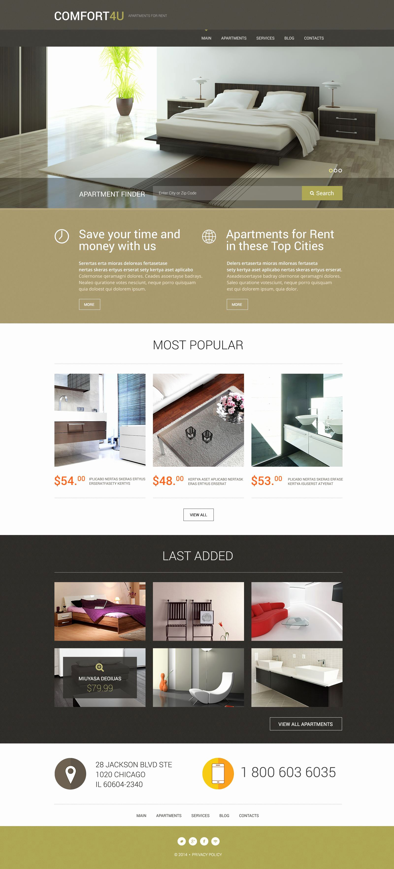 Apartment for Rent Flyer Template Yourweek 4e4a29eca25e