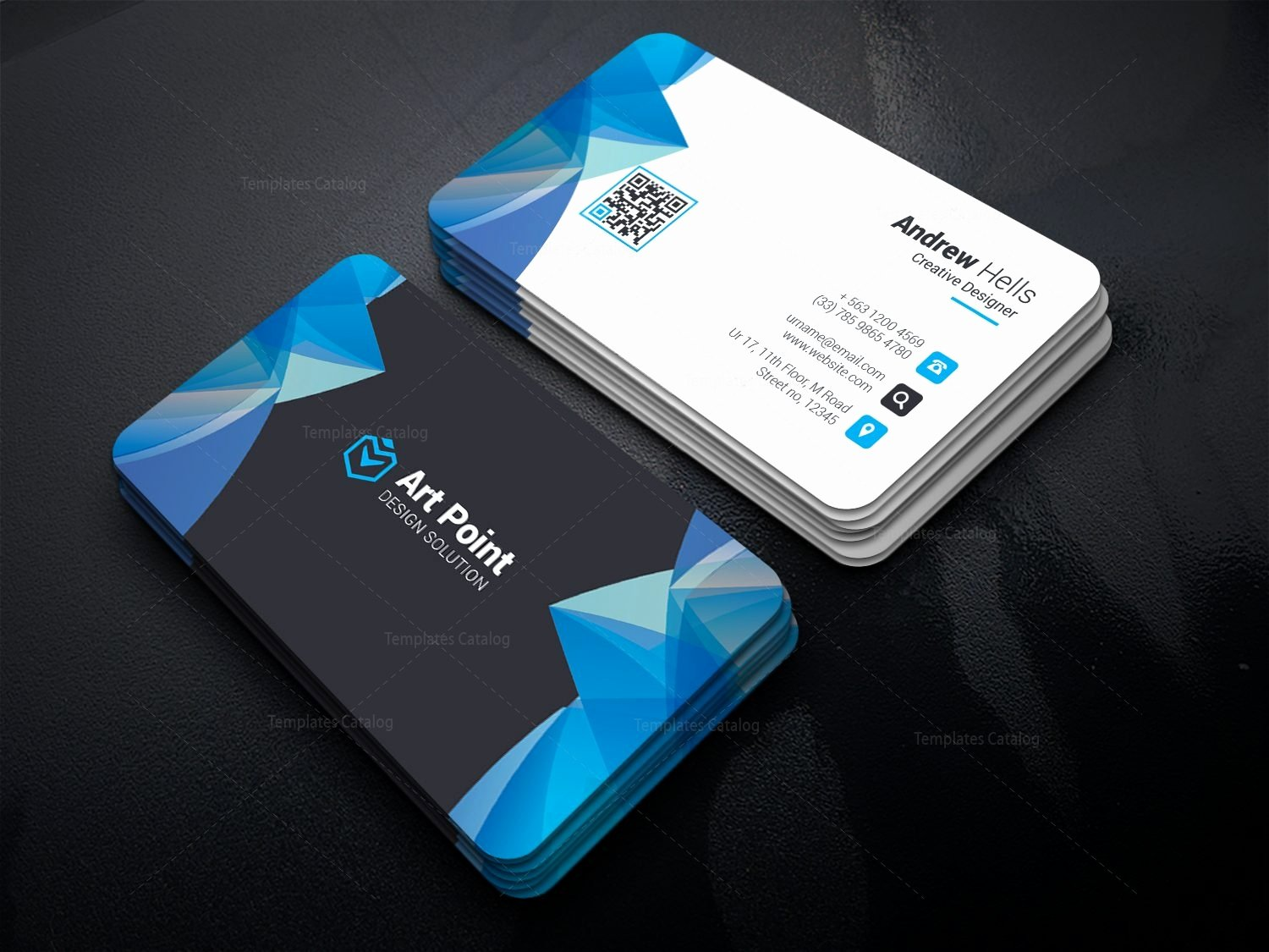 Apollo Professional Corporate Business Card Template