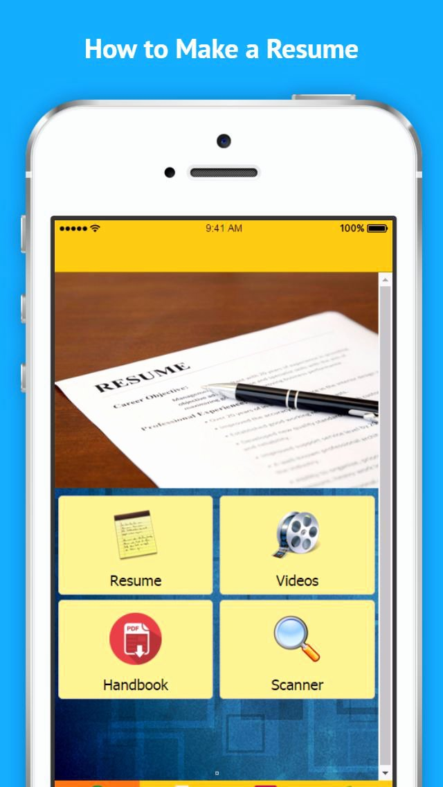 App Shopper How to Make A Resume Education