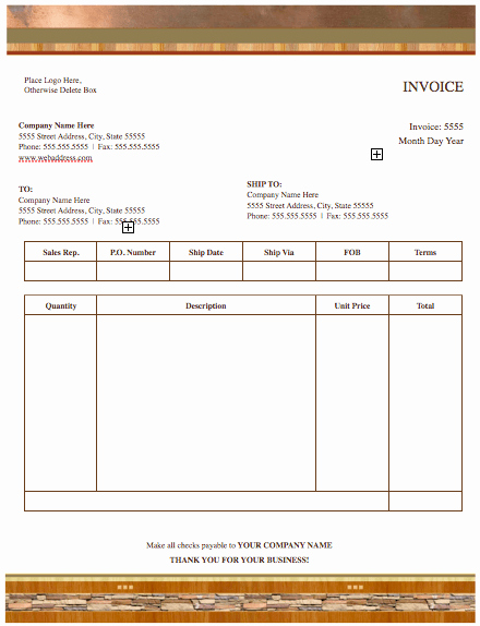 Apple Pages Invoice Template Free Denryokufo