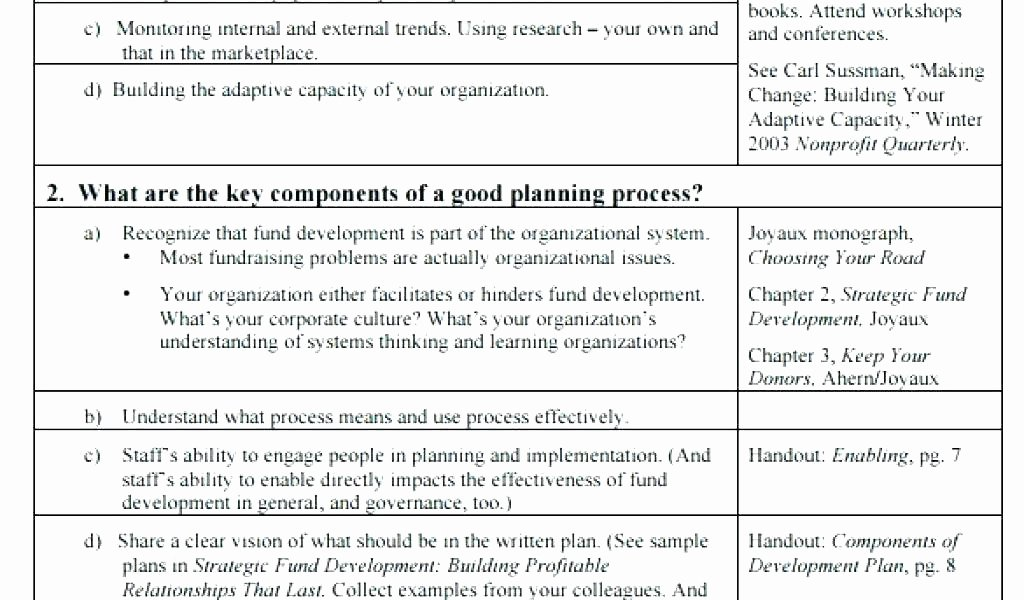 Application Development Strategy Template Strategic Plan