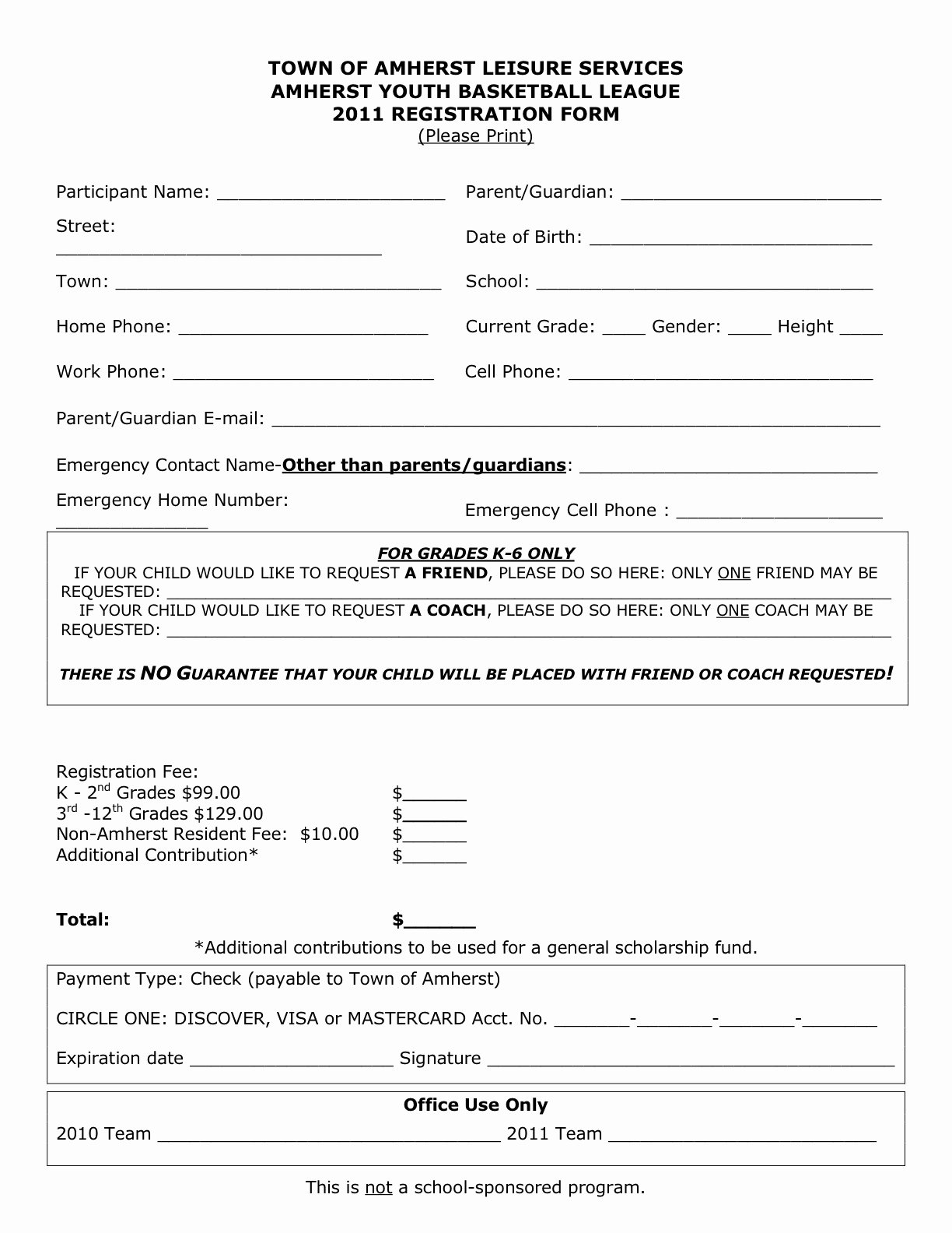 Application form Registration form Template HTML Free