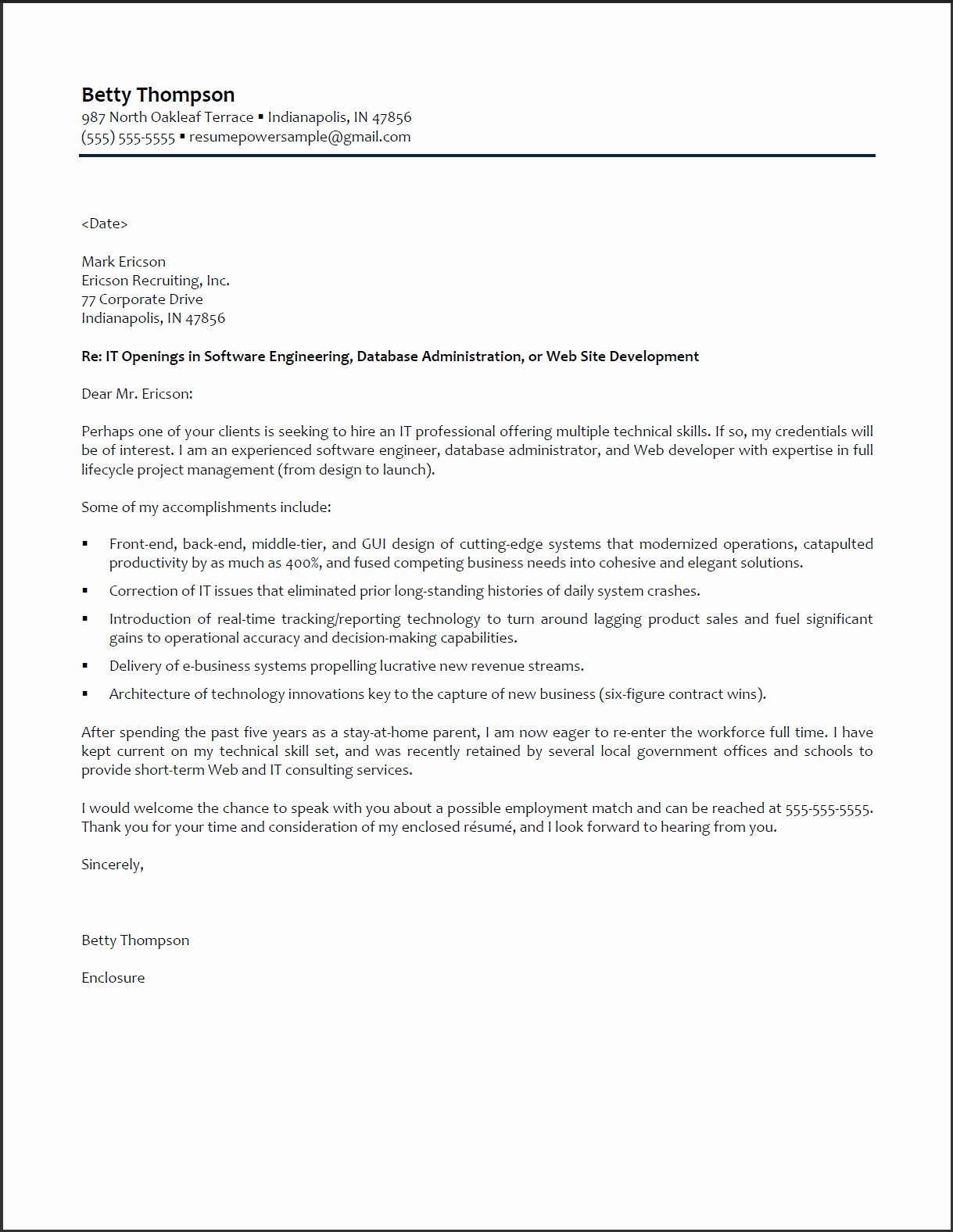Application Letter Sample Cover Letter Example software