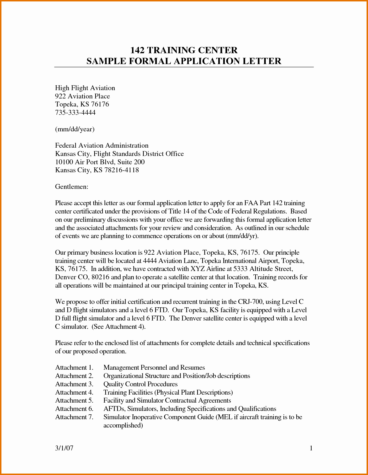 Application Letter Samples for Studentsreference Letters