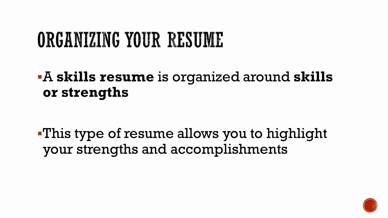 Applying for A Job Section Ppt