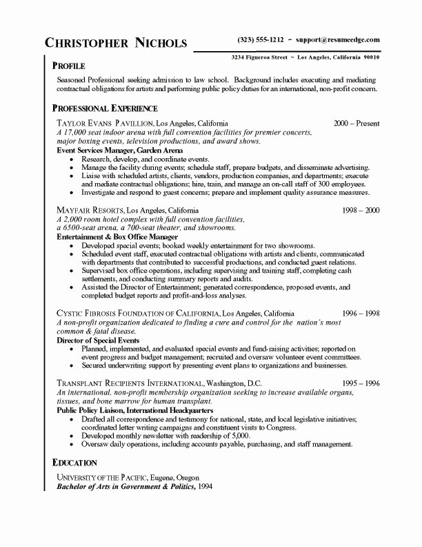 Applying to Graduate School Resume Best Resume Collection