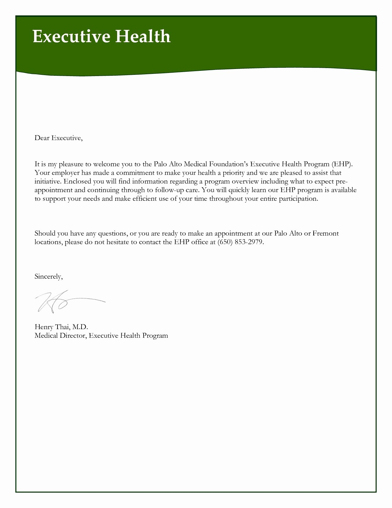 Appointment Reminder Letter Template Medical Examples