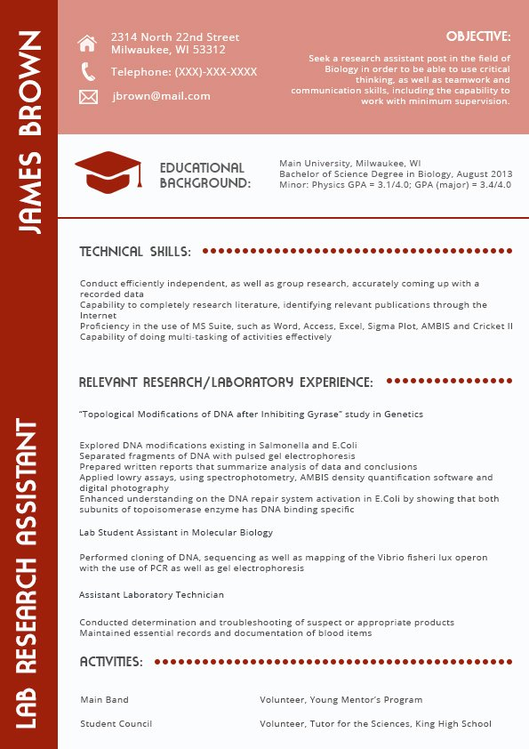 Appropriate Current Resume formats 2018