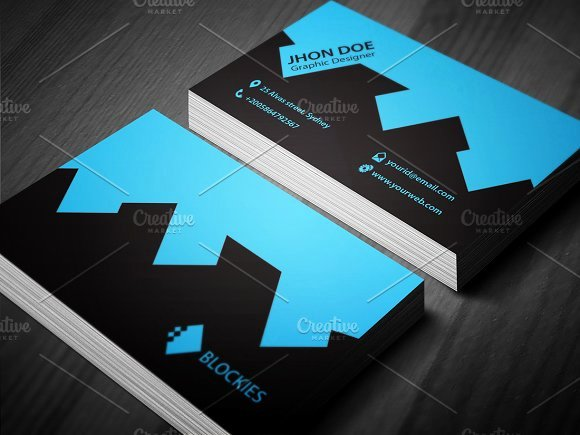 Architect Construction Business Card Business Card