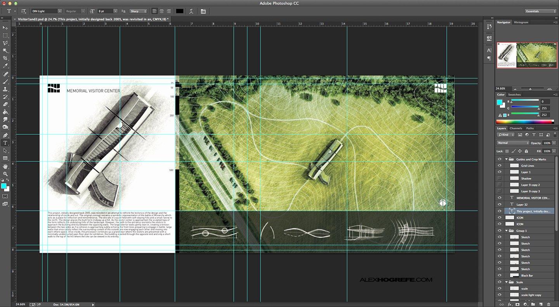 Architectural Portfolio Workflow
