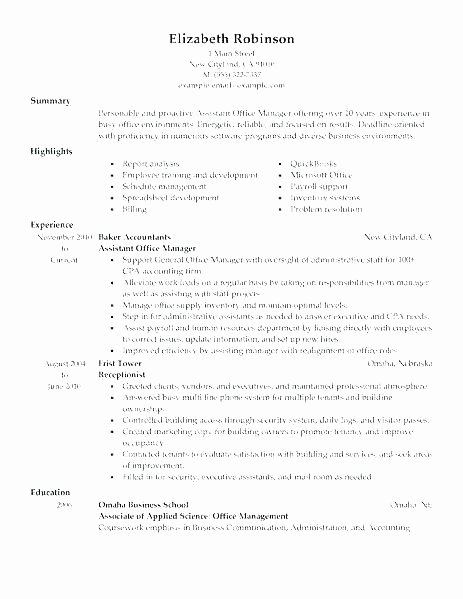 Assistant Manager Resume Objective Similar Resumes