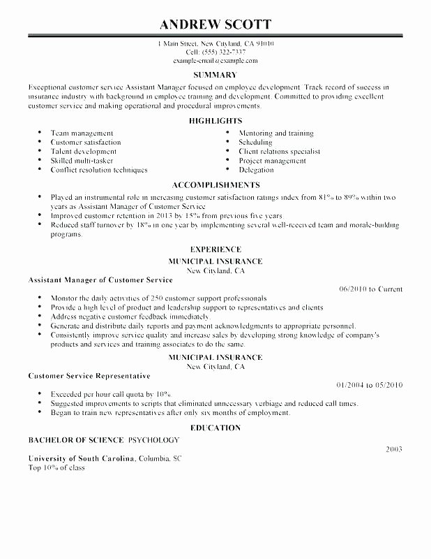 Associate Project Manager Resume Sample Program Job