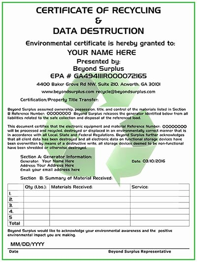 Atlanta Electronics Recycling & Free Puter Disposal