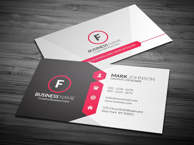 Attractive & Modern Corporate Business Card Template