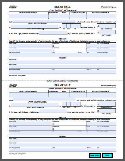 Auto Loan Credit Application Template