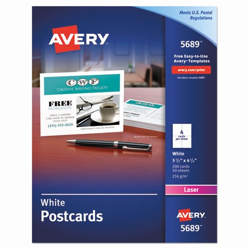 Avery 3380 Postcard Template Bing Images
