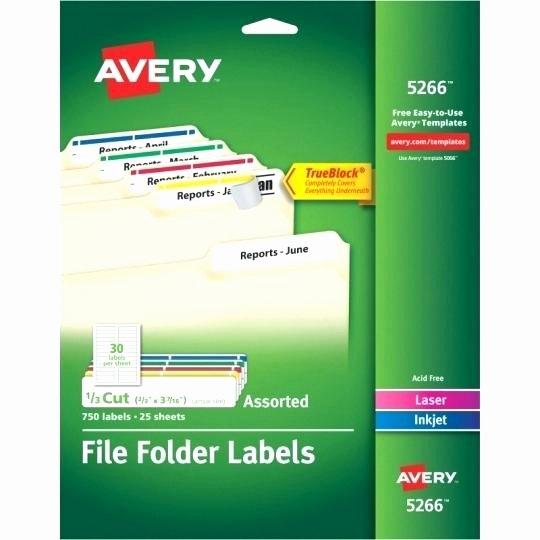 Avery File Folder Labels 5366 Template – Reviewshubfo