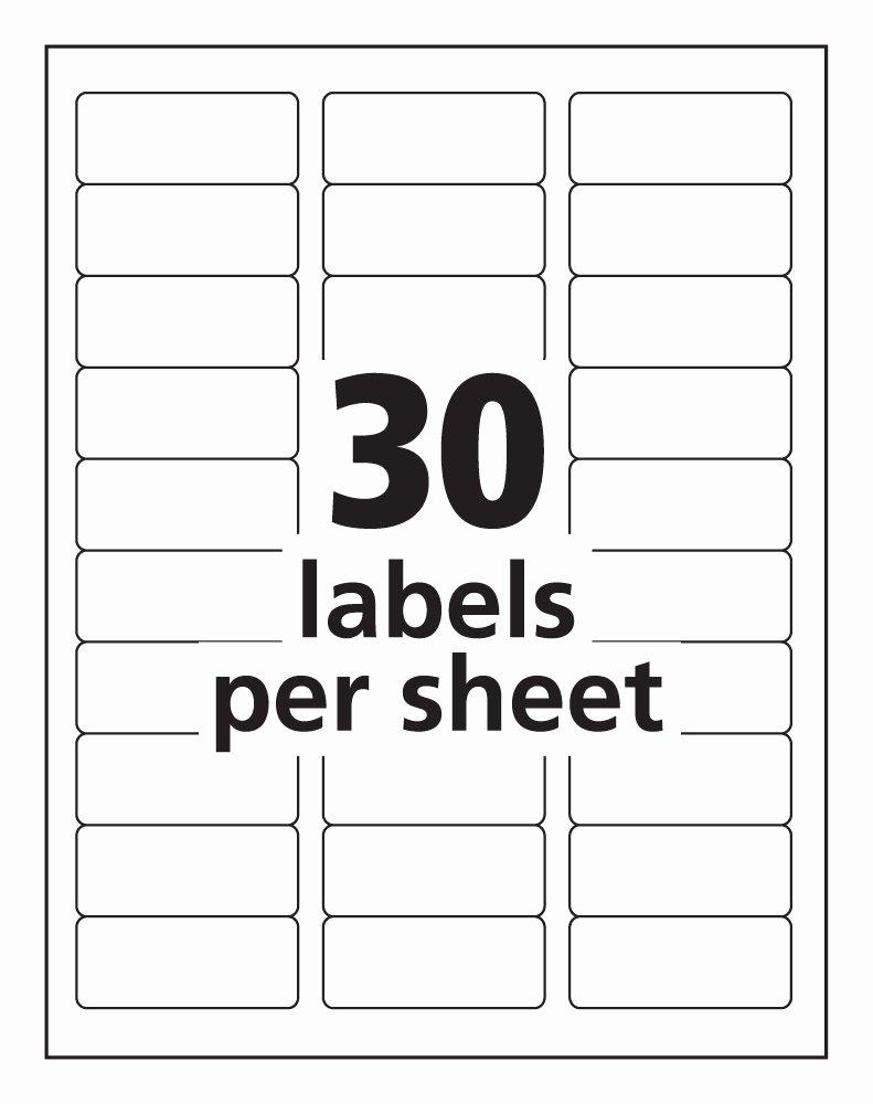 Avery Laser Address Labels Template top Label Maker