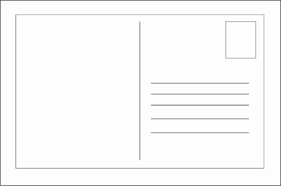 Avery Postcard Template Postcards for Word – Anyms