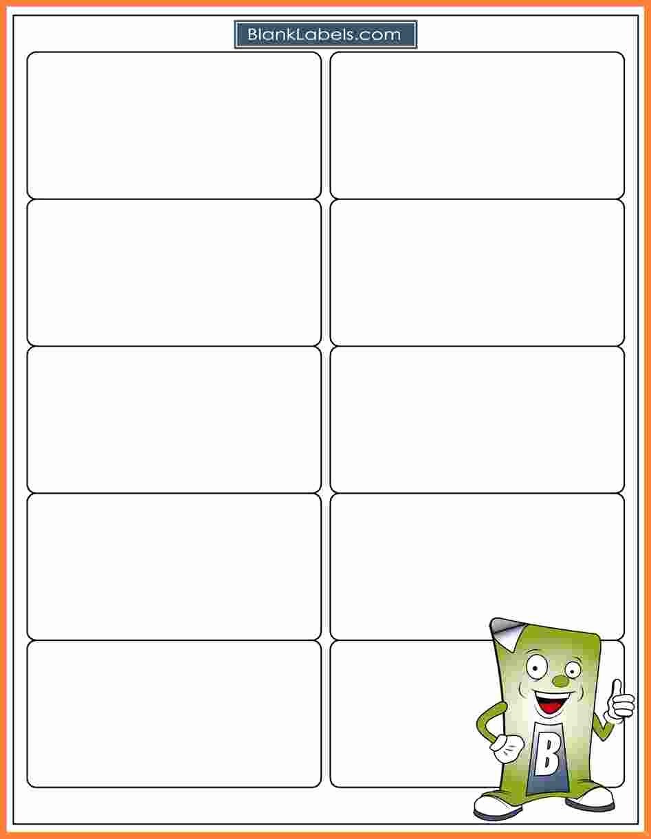 Avery Template 5163