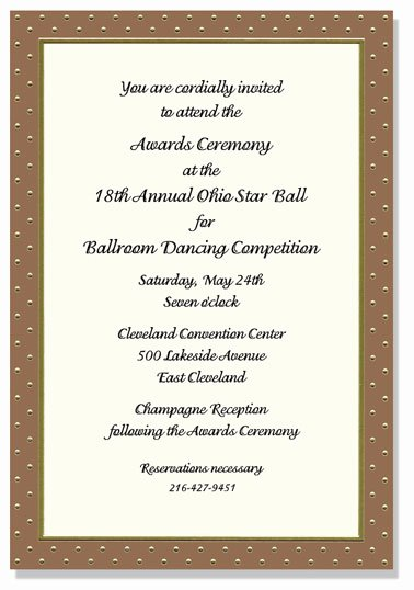 Award Ceremony Invitation Quotes Image Quotes at