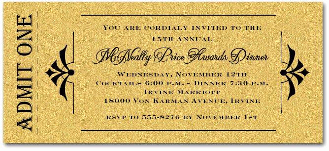 Award Ceremony Invitation Template – orderecigsjuicefo